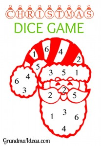 Bewitching image with regard to christmas dice game printable